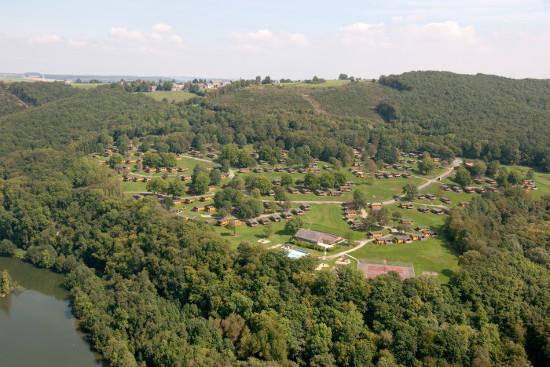 Landal Les Etoiles aus der Luft - Bild: Landal GreenParks