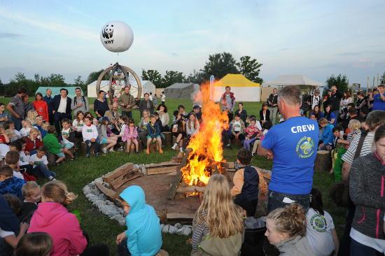 Auch die zweite Ausgabe der Kids Climate Conference kann als großer Erfolg verbucht werden: Am vergangenen Wochenende drehte sich im Park Hochsauerland alles um das Thema Energie. Bild © Groupe Pierre & Vacances-Center Parcs