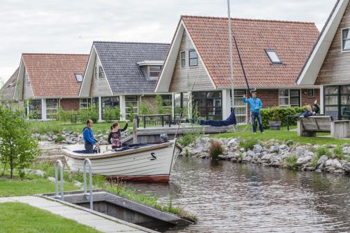 Nah am Wasser gebaut: Landal Waterpark Terherne. Bild: Landal GreenParks
