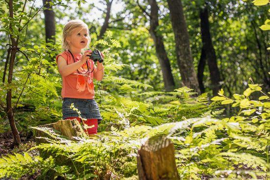 Im grünen Bereich: Die meisten Familien wollen sich nicht mehr nur im Ferienpark selbst aufhalten - sie wollen aktiv sein und die Region auf eigene Faust entdecken. Foto: djd/Landal GreenParks GmbH