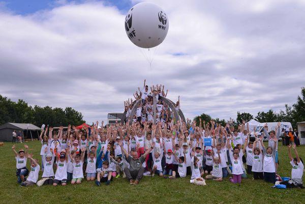 Gruppenbild Kids Climate Conference 2017 - Bild ©ASA'P/KL