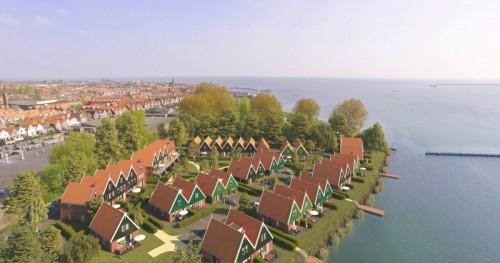 So soll Landal Volendam in Zukunft aussehen. Bild: Landal GreenParks