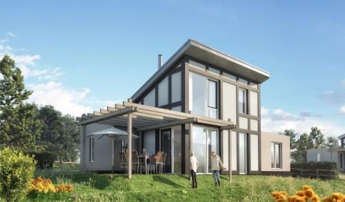 Die neuen Häuser in Landal Mont Royal. Bild: Landal Greenparks